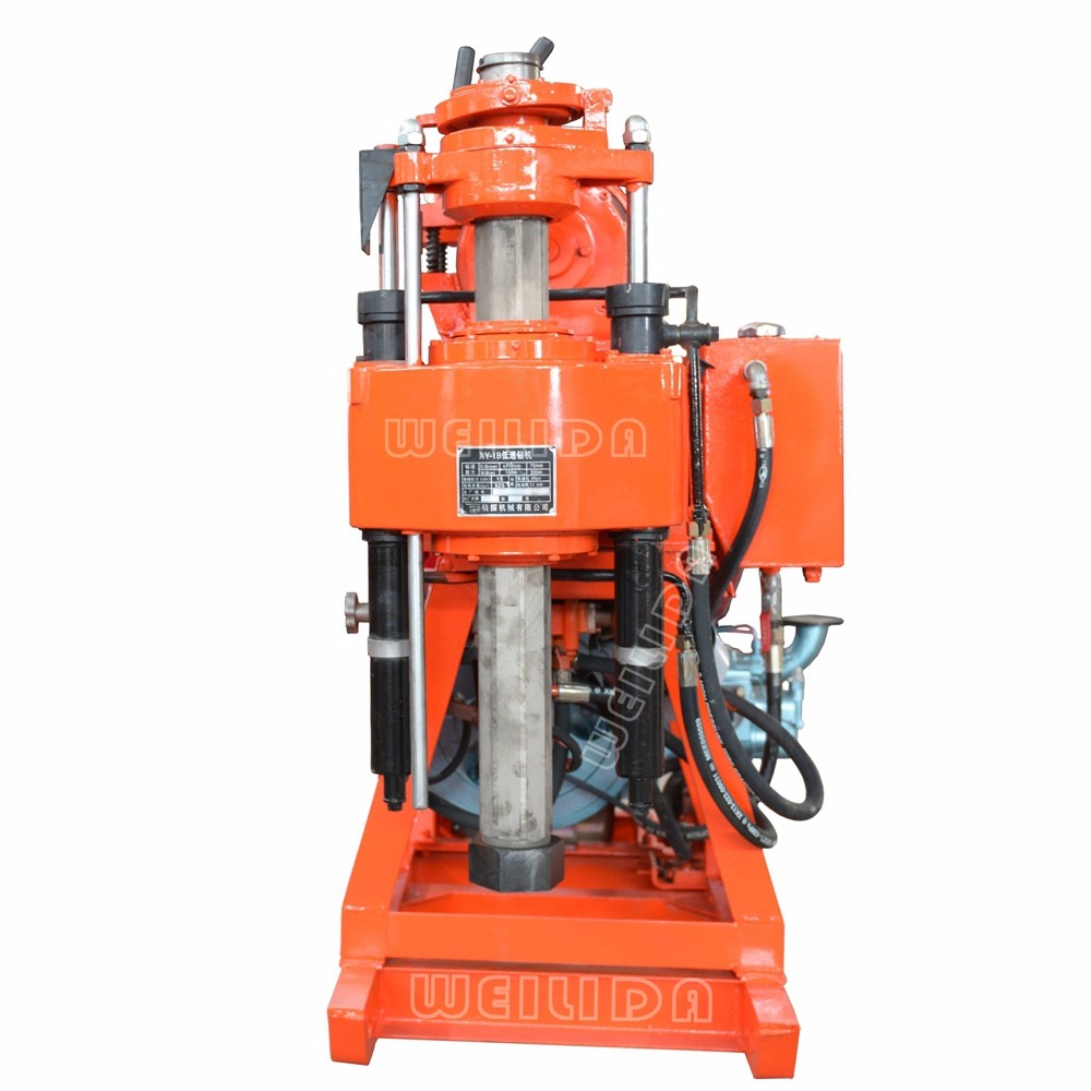 Cheap drilling rig portable, crawler drilling rigs for sale, exploration rig Price