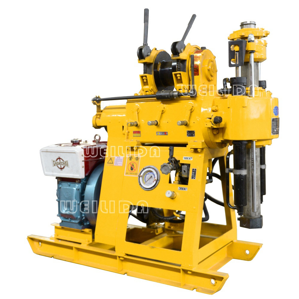 crawler type water well drilling rig machine