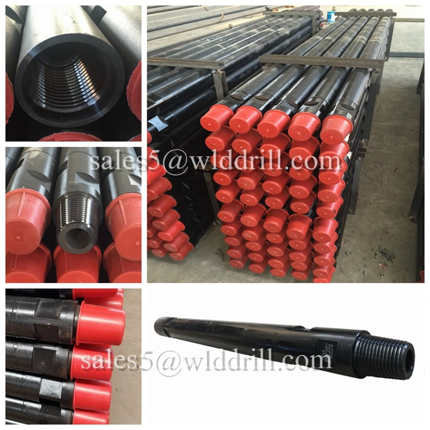 oil and gas well used drill pipe