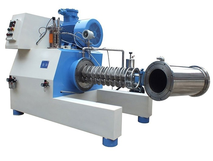 Horizontal Bead Mill Sand Mill for paint, pigment nano grinding