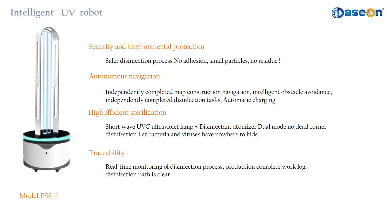 Intelligence UV robot Manufacturers, Intelligence UV robot Factory, Supply Intelligence UV robot