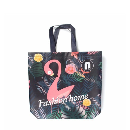 PP Folding Logo Print Nonwoven Bag