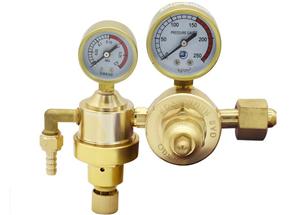 Regulador de presión del acetileno del oxígeno de Oxyturbo para la soldadura
