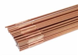 Electrodo de soldadura de aleación de cobre