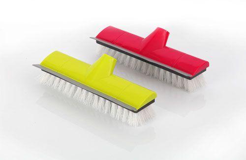 Push Broom With TPR Lip
