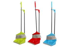 Upright Long Handled Dustpan Sets