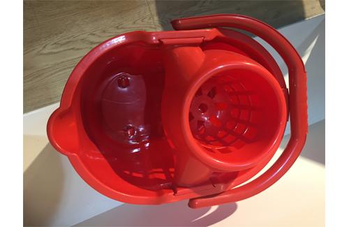 Mop Bucket With Drain Basket