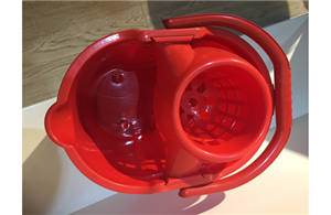 Mop Bucket With Drain Basket