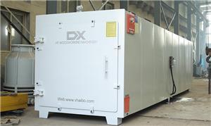 Radio Frequency Vacuum Lumber Dryer