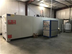 High frequency vacuum dry kiln get customer in CO,USA