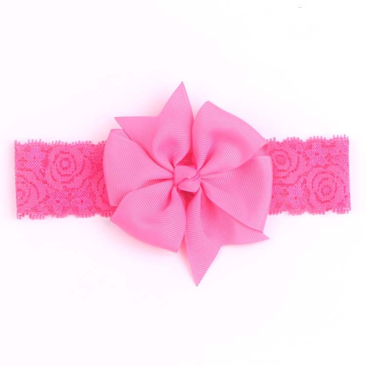 Ribbon Bow Lace Headband For Baby Manufacturers, Ribbon Bow Lace Headband For Baby Factory, Supply Ribbon Bow Lace Headband For Baby