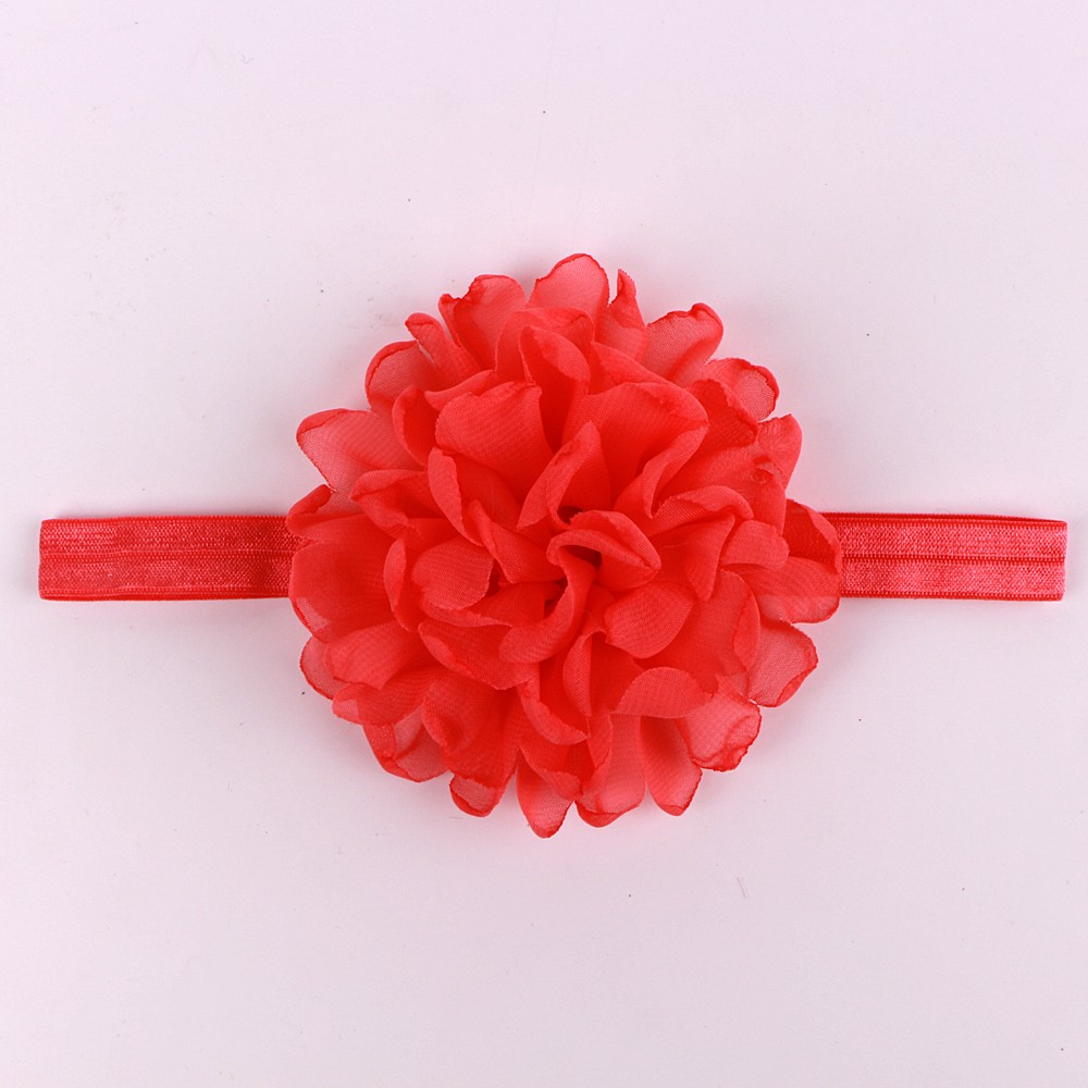 Baby Flower Headband Ribbon Bow