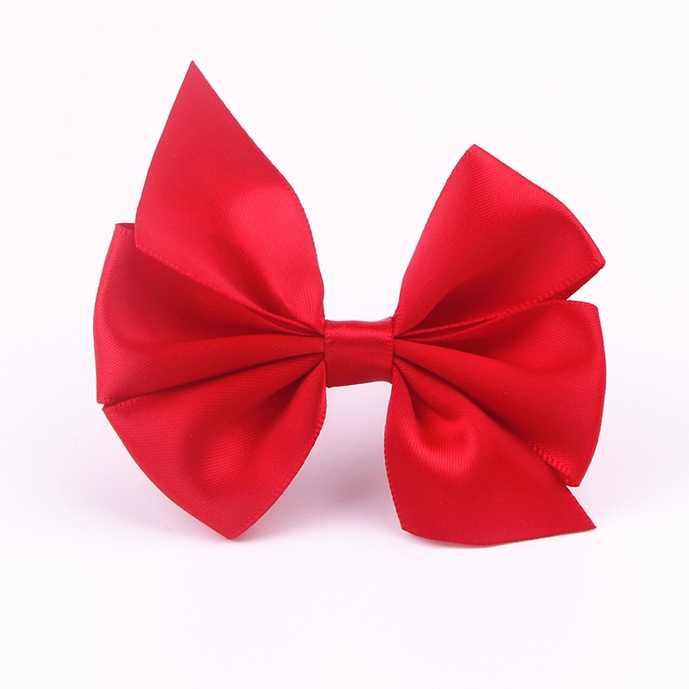 Pre Made Satin Ribbon Bow for Packaging and Decoration