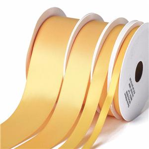 Chinese Manufactuer Polyester Satin Ribbon Roll Packing