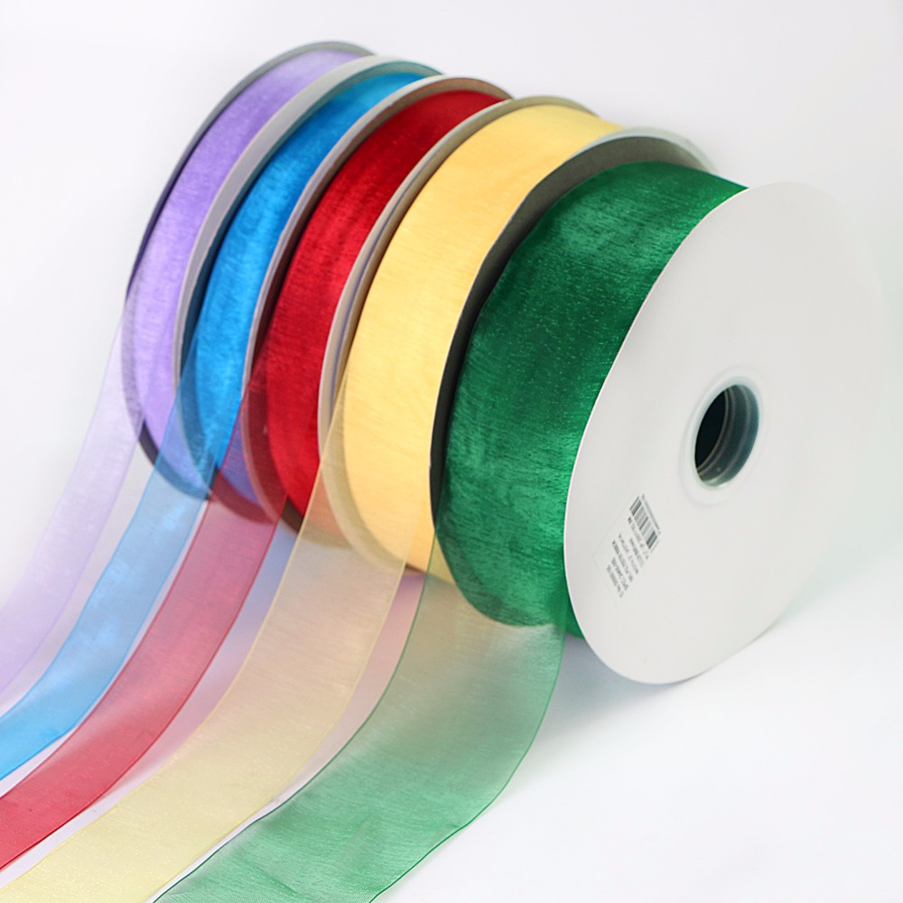 Custom Organza Ribbon for Roll Manufacturers, Custom Organza Ribbon for Roll Factory, Supply Custom Organza Ribbon for Roll