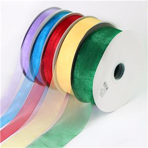 Custom Organza Ribbon for Roll