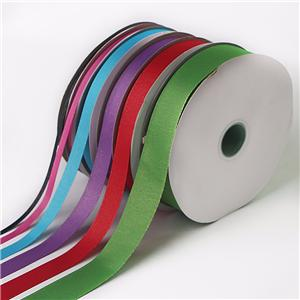 Gold Silver Metallic Grosgrain Ribbon