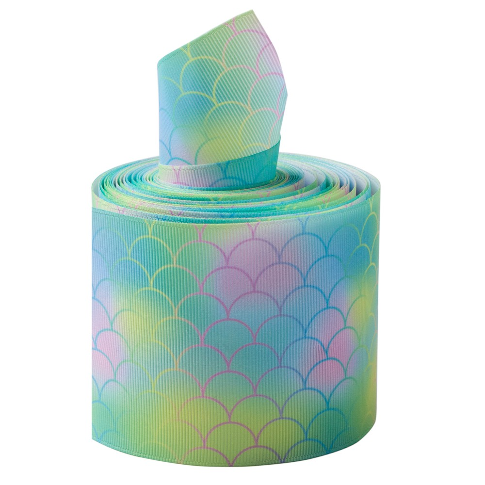 Printed Ribbon Grosgrain 3 inch
