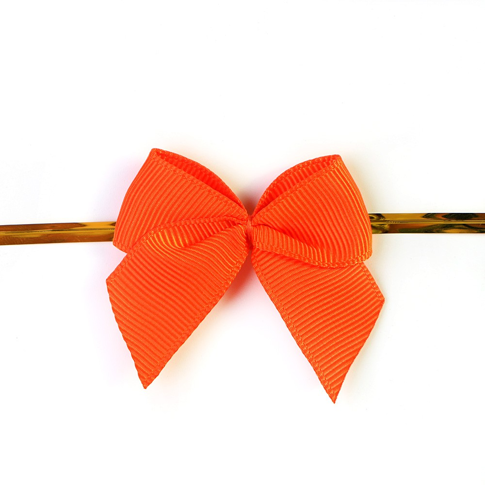 Ribbon Bow With Wire Twist Tie For Gift Box Packing