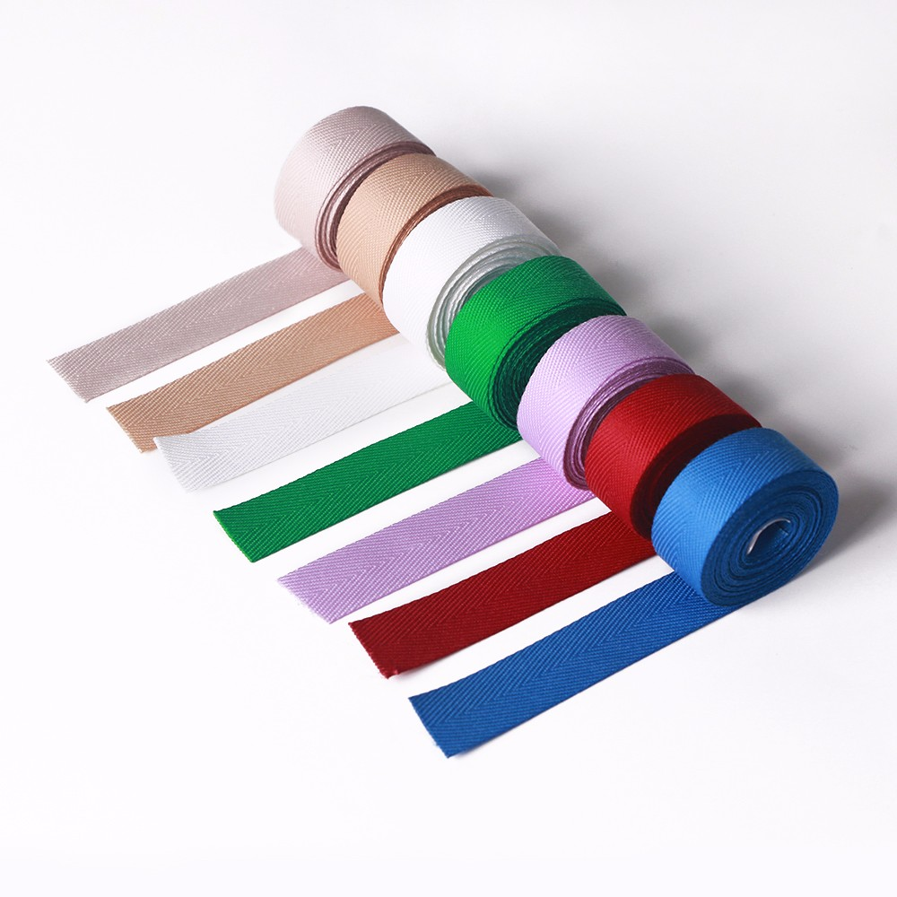 Polyester Herringbone Ribbon Decoration Ribbon