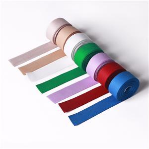 Ruban de décoration en ruban à chevrons en polyester
