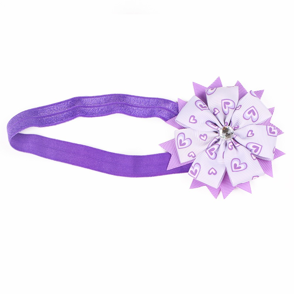 Elastic Polyester Headband Flower Manufacturers, Elastic Polyester Headband Flower Factory, Supply Elastic Polyester Headband Flower