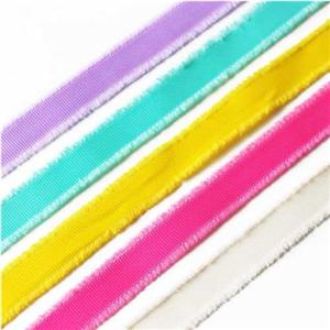 Grosgrain Fringe Ribbon for Packing and Decoration