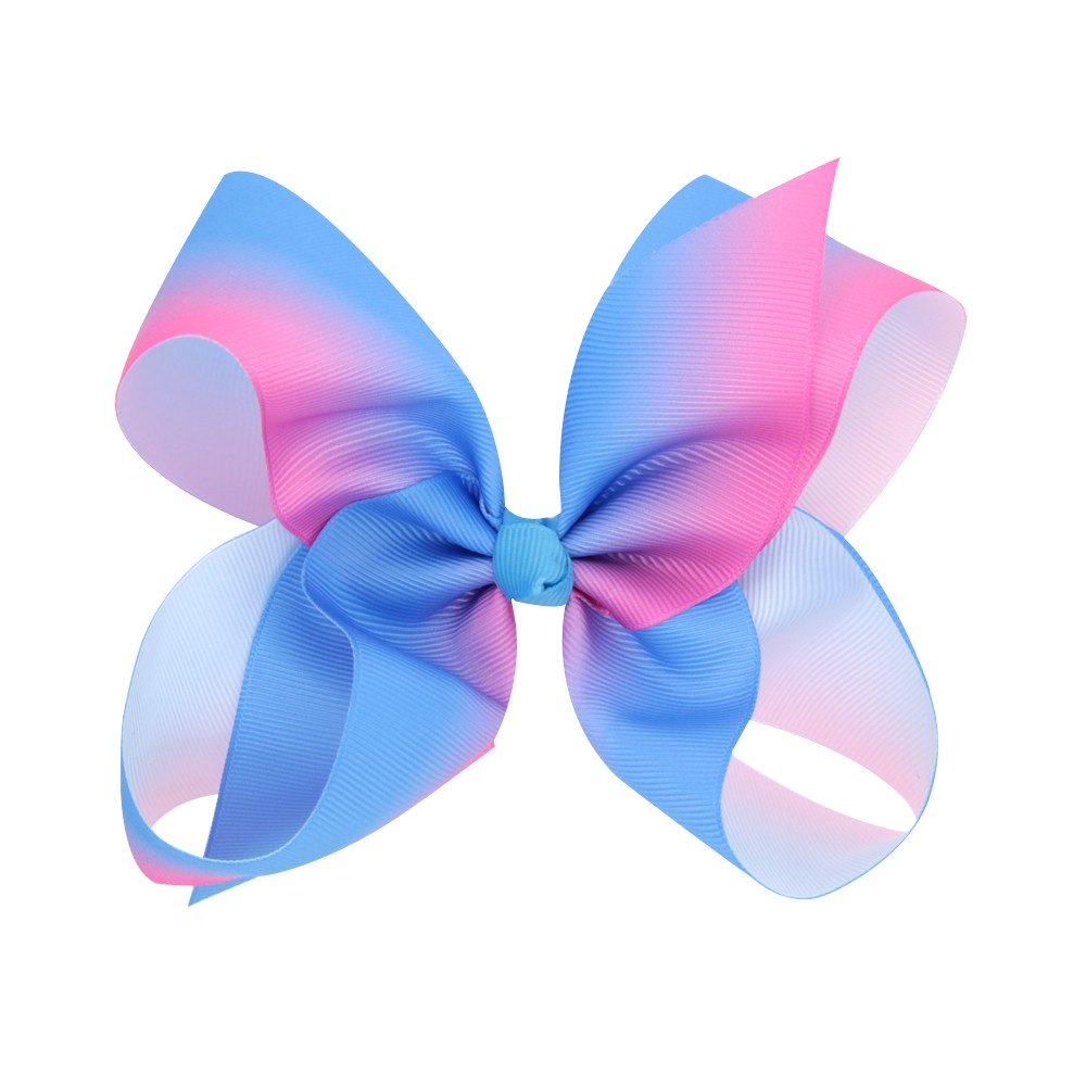 Fashion Girl Hair Bow Clips Ribbon Bow