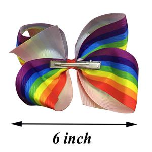 6 Inch Big Hair Bows For Girls
