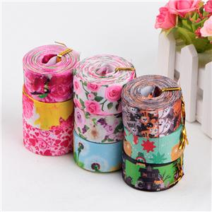 Heat Transfer Printed Grosgrain Ribbon