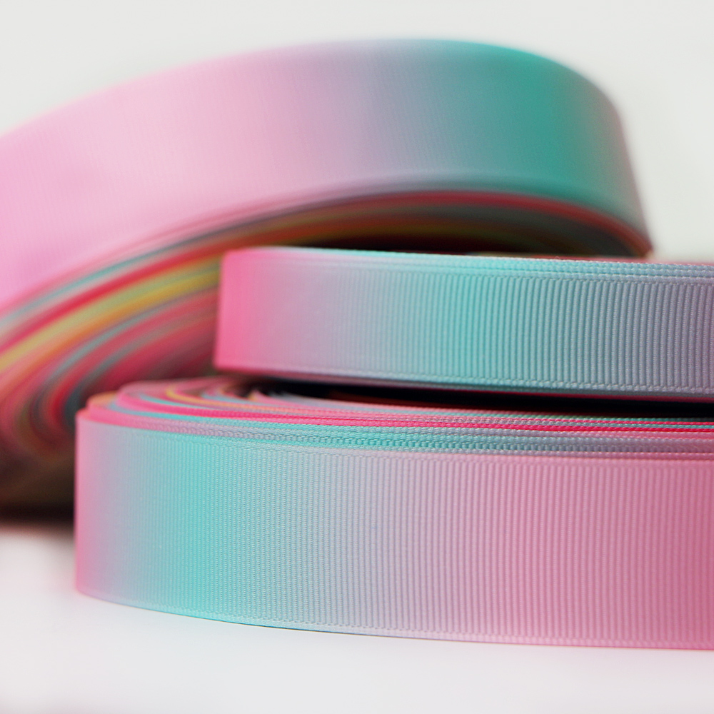 Wholesale Multicolor Gradient Grosgrain Ribbon 50 Yards Manufacturers, Wholesale Multicolor Gradient Grosgrain Ribbon 50 Yards Factory, Supply Wholesale Multicolor Gradient Grosgrain Ribbon 50 Yards