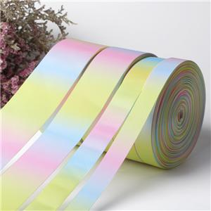 Commercio all'ingrosso di luce arcobaleno nastro del grosgrain di The Roll
