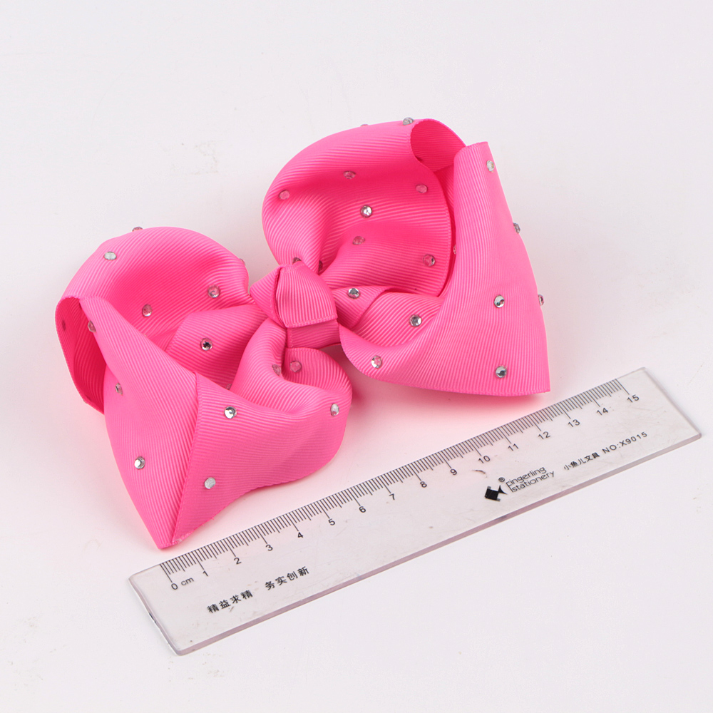 Custom Wholesale Solid Grosgrain Girl Hair Bow With Rhinestone Manufacturers, Custom Wholesale Solid Grosgrain Girl Hair Bow With Rhinestone Factory, Supply Custom Wholesale Solid Grosgrain Girl Hair Bow With Rhinestone