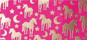 Weekly New Product, Unicorn Printed Grosgrain Ribbon Theme 3