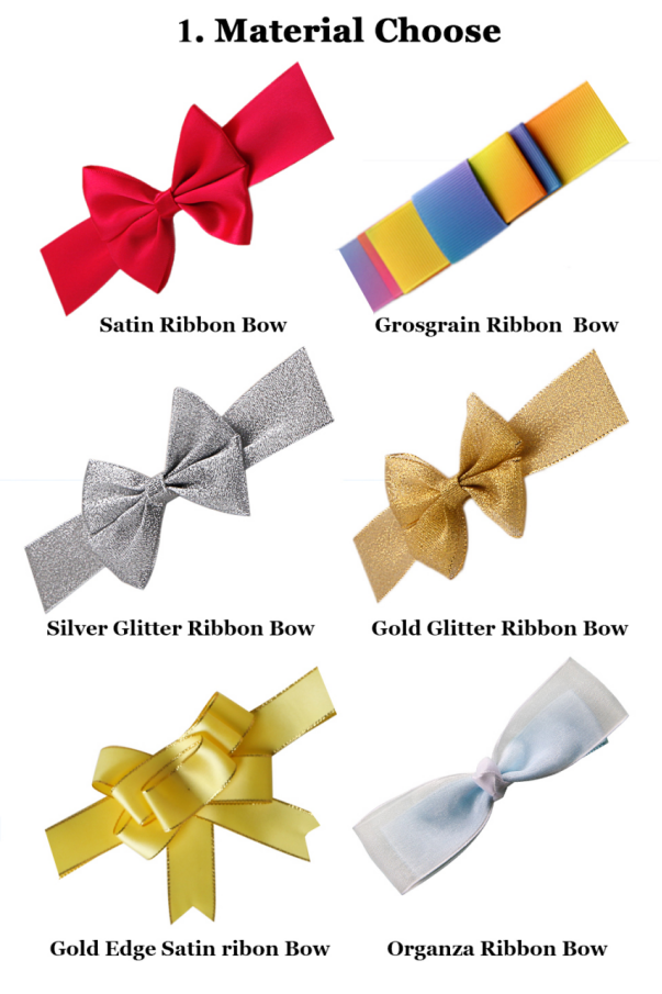 gift wrapping elastic band bow