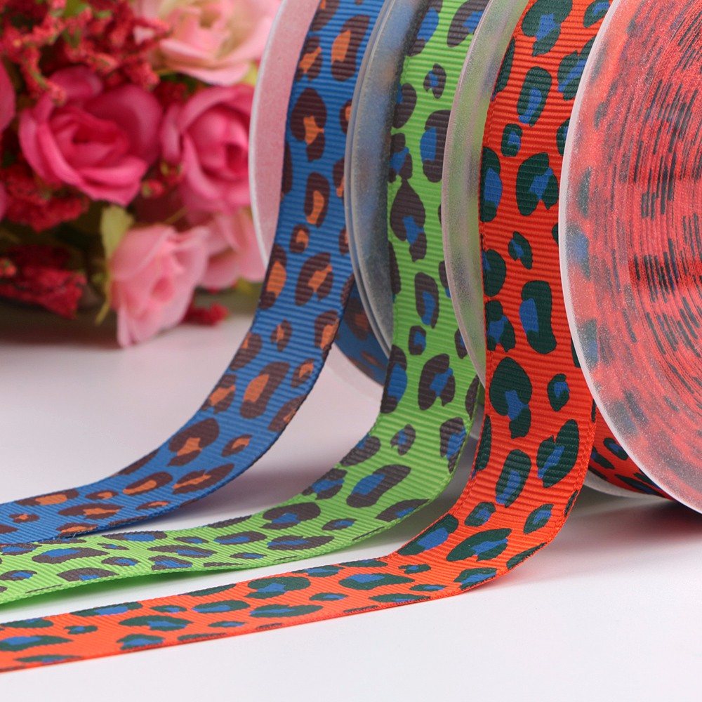25mm Custom Printed Ribbon Leopard Print Manufacturers, 25mm Custom Printed Ribbon Leopard Print Factory, Supply 25mm Custom Printed Ribbon Leopard Print