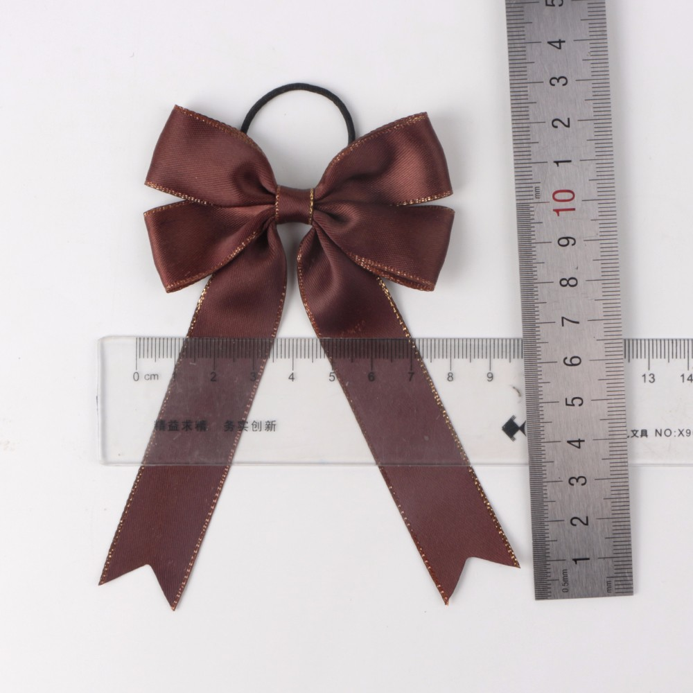 Wholesale Pre-tied Satin Ribbon Bow with Elastic Loop For Bottle Packing Manufacturers, Wholesale Pre-tied Satin Ribbon Bow with Elastic Loop For Bottle Packing Factory, Supply Wholesale Pre-tied Satin Ribbon Bow with Elastic Loop For Bottle Packing