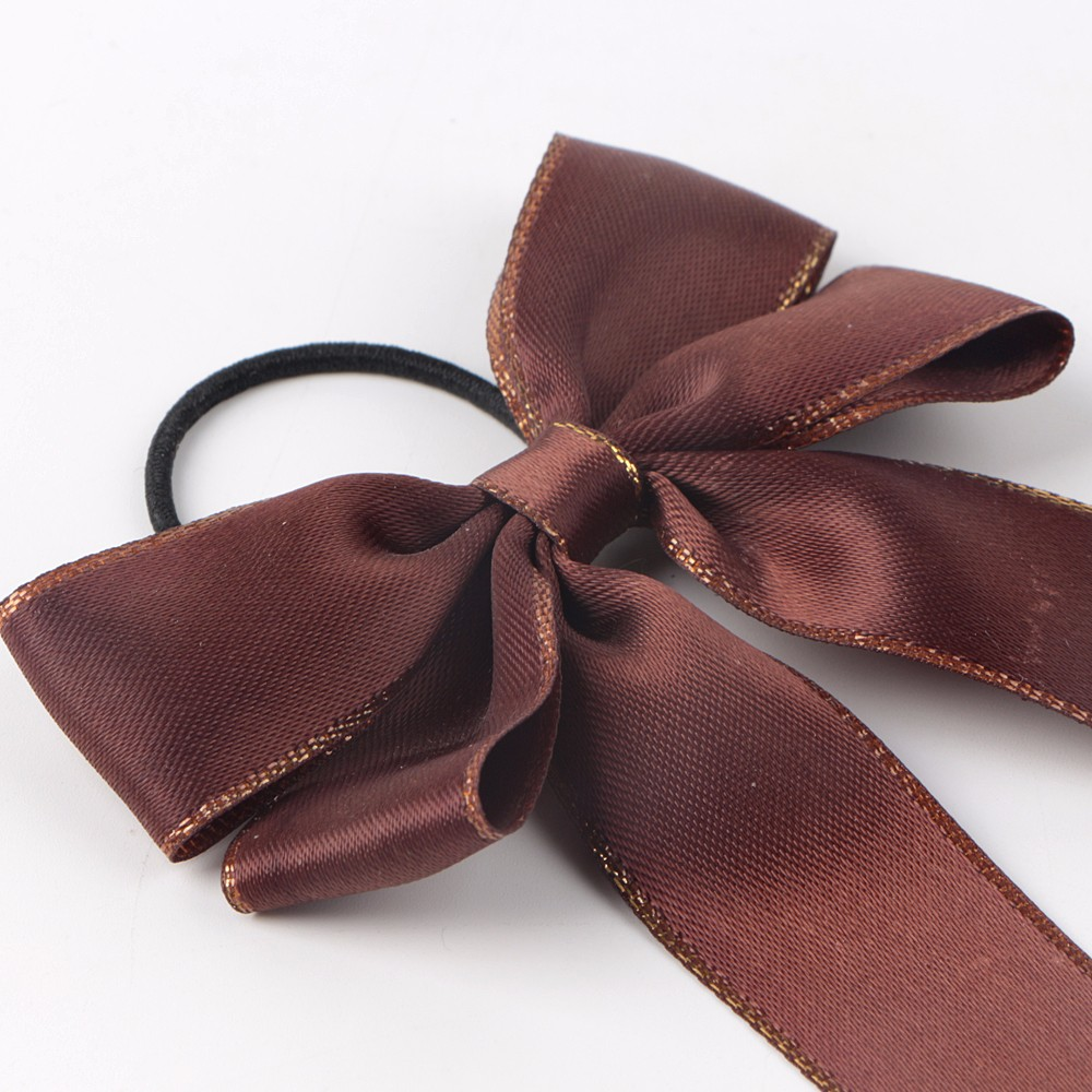 ribbon bow with elastic loop