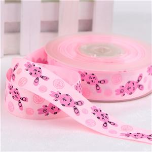 Present decoration grosgrain personalised custom ribbon printed ribbon for Australia