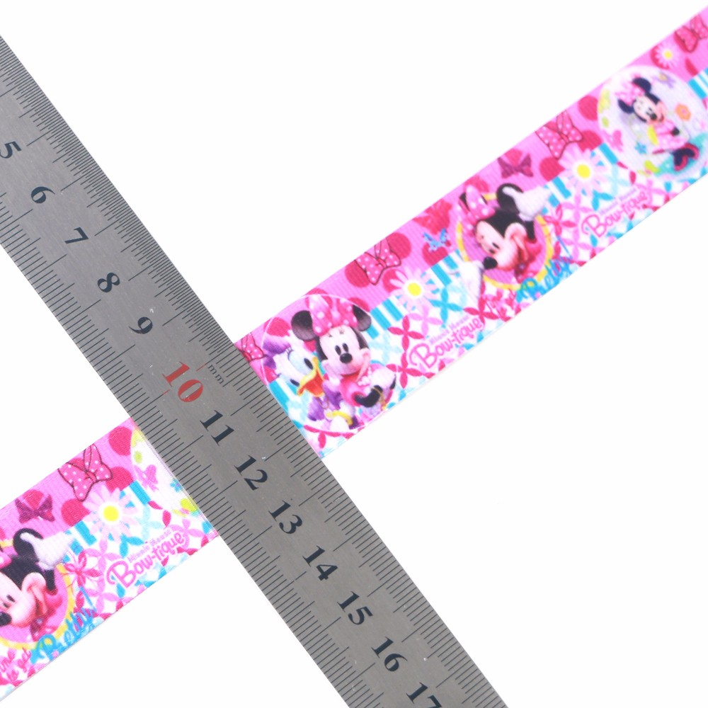 Disney pattern printed heat transfer printing grosgrain ribbon roll packed Manufacturers, Disney pattern printed heat transfer printing grosgrain ribbon roll packed Factory, Supply Disney pattern printed heat transfer printing grosgrain ribbon roll packed