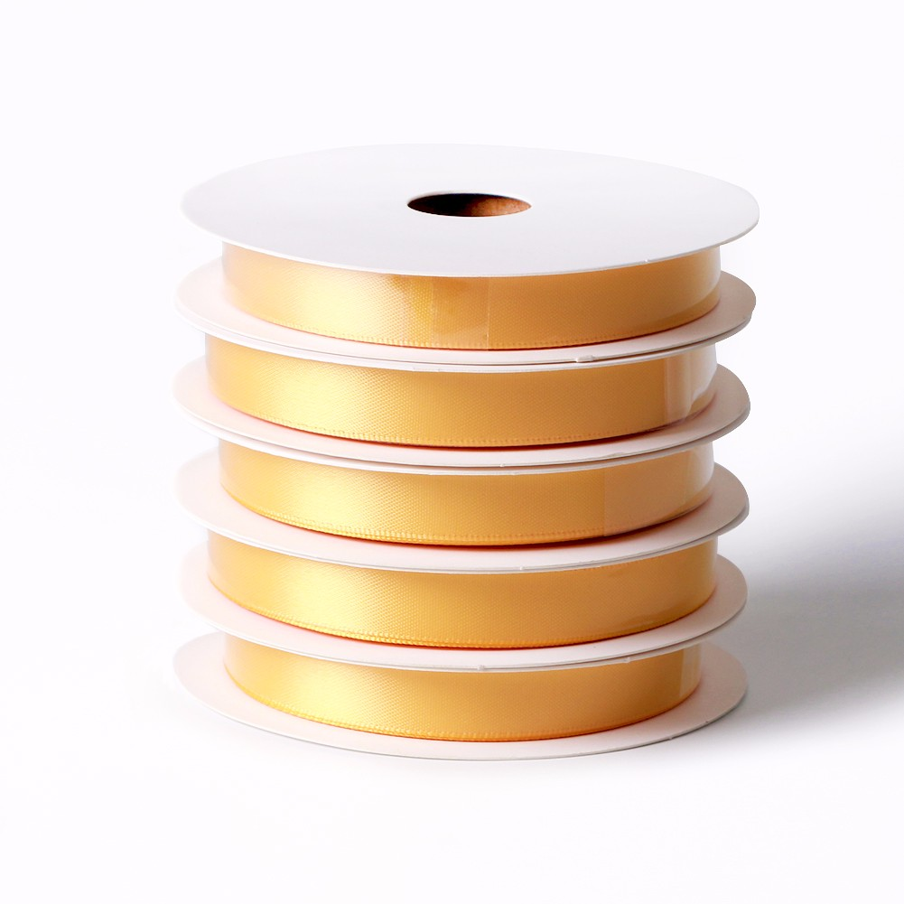 Yellow gold solid color stain ribbon for making ribbon bows Manufacturers, Yellow gold solid color stain ribbon for making ribbon bows Factory, Supply Yellow gold solid color stain ribbon for making ribbon bows