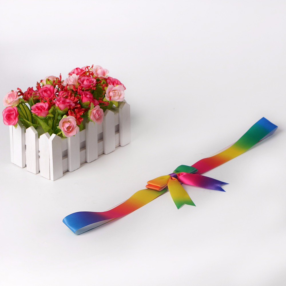 Rainbow satin ribbon fish tail cut elastic ribbon bow gift box packing ribbon bow Manufacturers, Rainbow satin ribbon fish tail cut elastic ribbon bow gift box packing ribbon bow Factory, Supply Rainbow satin ribbon fish tail cut elastic ribbon bow gift box packing ribbon bow