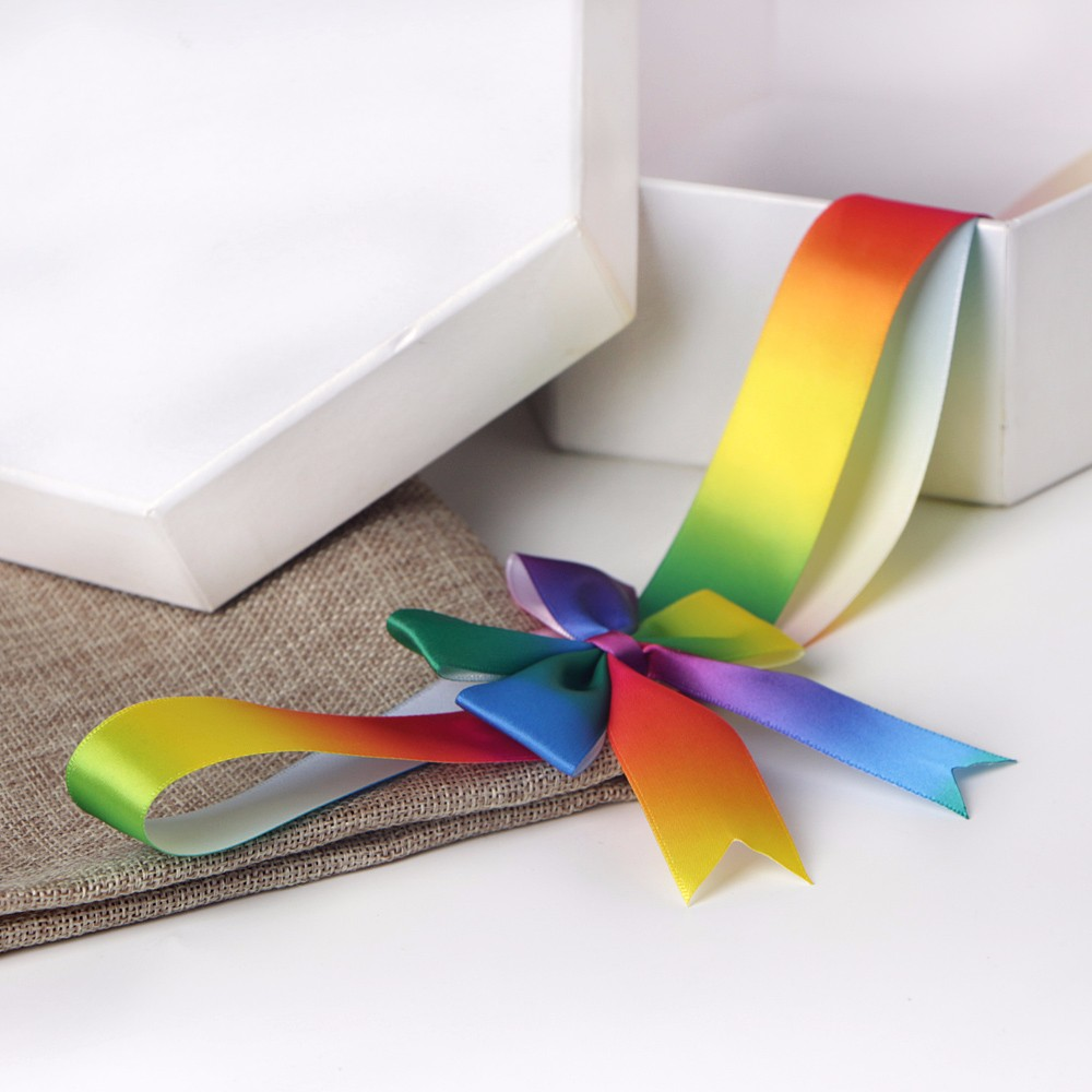 elastic gift box ribbon
