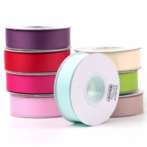 196colors black,pink,blue solid grosgrain ribbon 25mm
