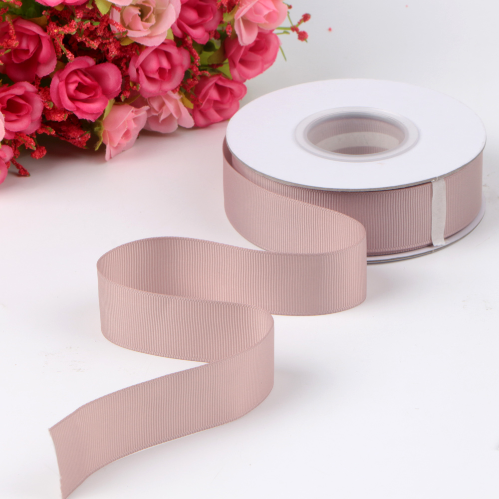 solid grosgrain ribbon