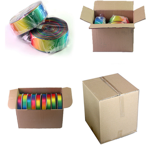 ribbon roll packed