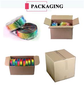 Regular Packing Method for Ribbon and Printed Ribbon