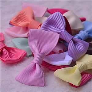 Mini satin and grosgrain ribbon for bows