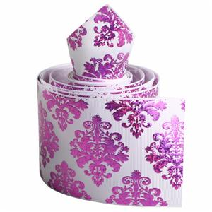 Customised ribbon printing grosgrain ribbon printed with argyle