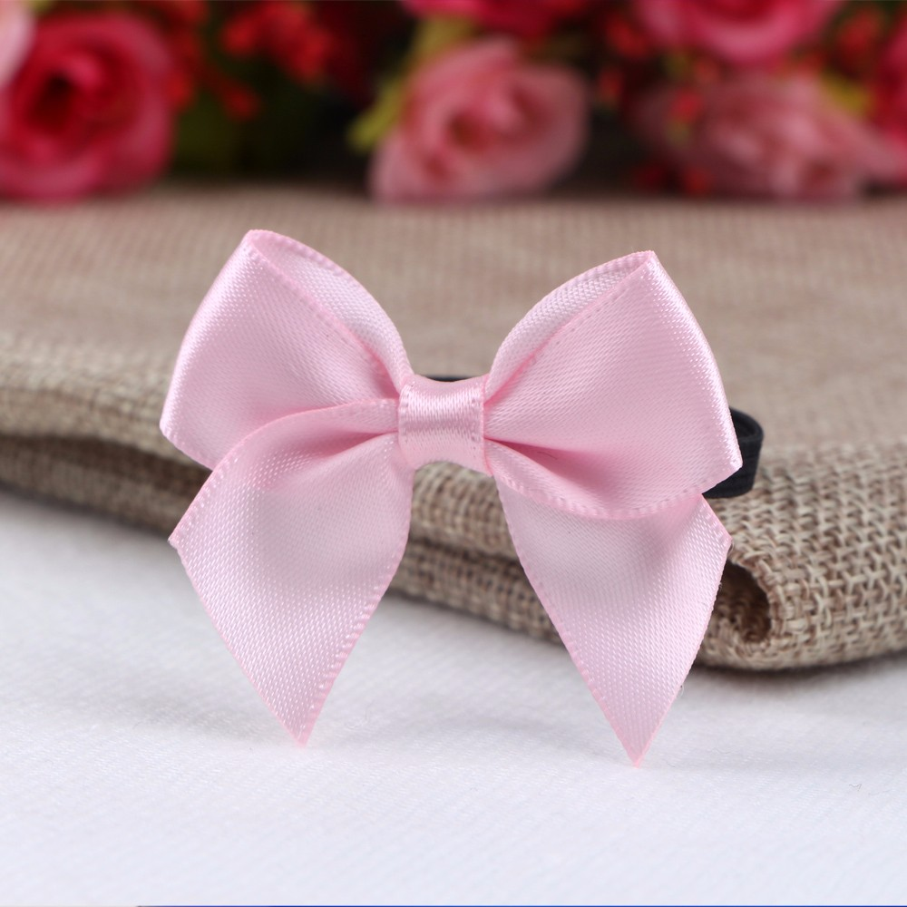 Mini satin ribbon bow ready made bows and ribbons decorative ribbons and bows